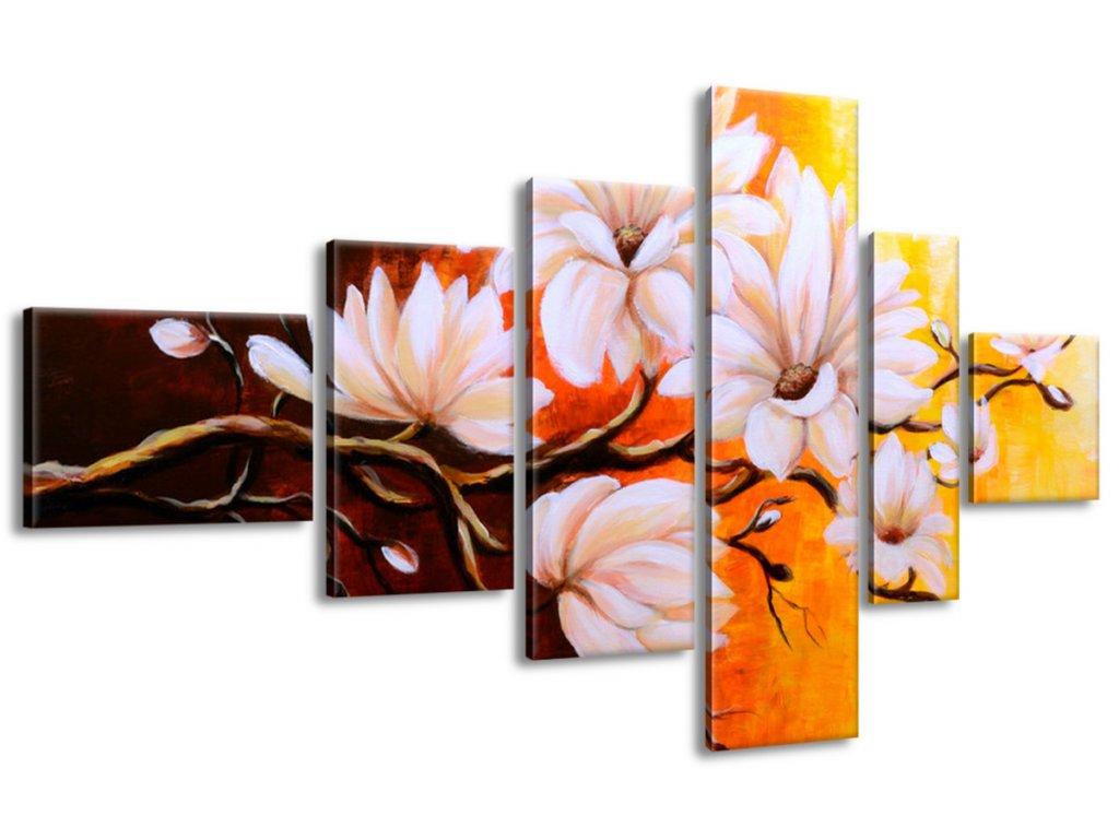 Obraz na plátne Farebné magnólie 180x100cm  + Darček