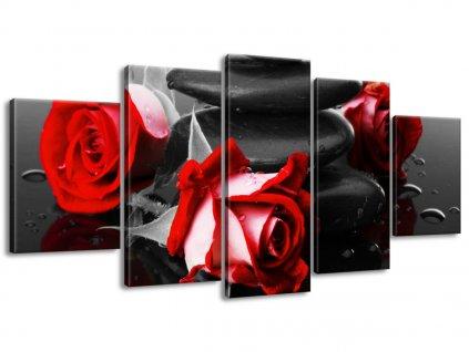 Obraz na plátne Roses and spa 160x80cm  + Darček