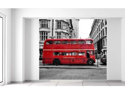 Fototapeta Červený londýnsky autobus  + Darček