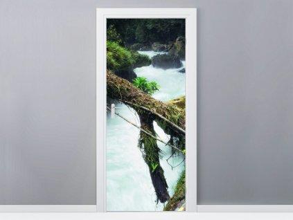 Samolepiaca fólia na dvere Krásna príroda 95x205cm  + Darček