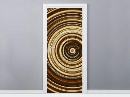 Samolepiaca fólia na dvere Cappuccino Love 95x205cm  + Darček