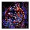 137885 obraz na platne marvel avengers infinity war icons 40x40cm