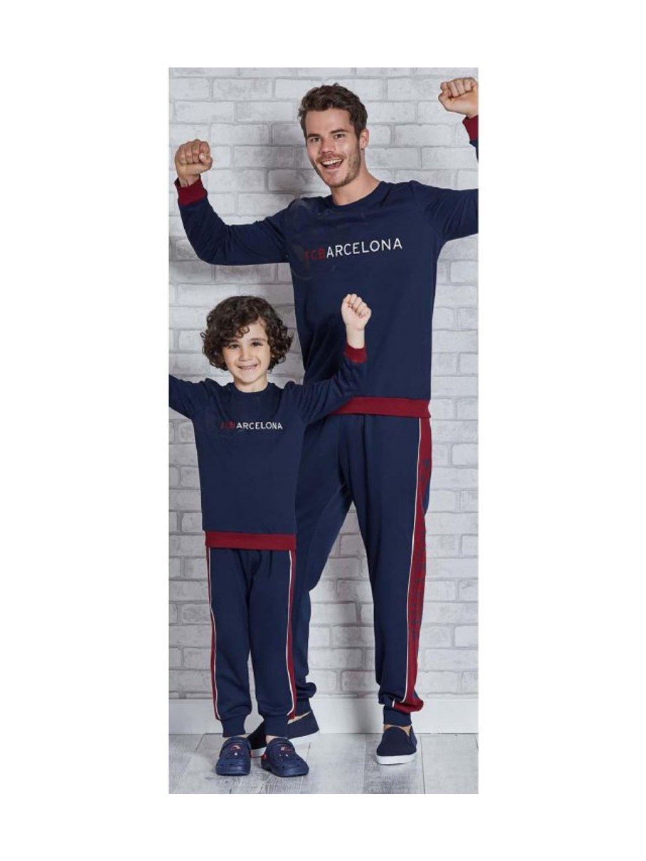 Chlapčenské pyžamko BARCELONA L9266 2/8 rokov