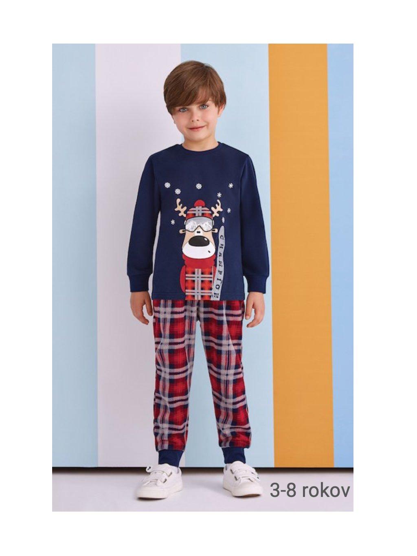 Detské chlapčenské pyžamo 3 až 8 rokov