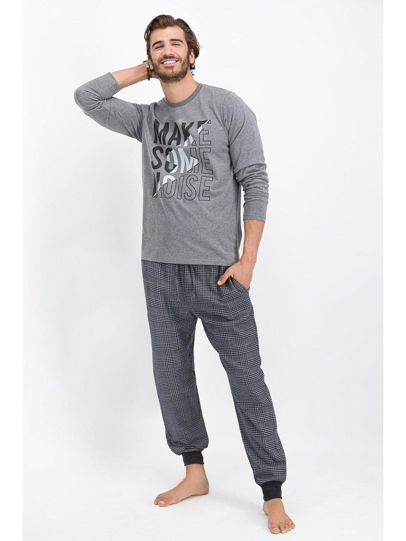arnetta erkek uzun kolpijama takim antramelanj pijama takimi arnetta 2020 k 22581 24 B (1)