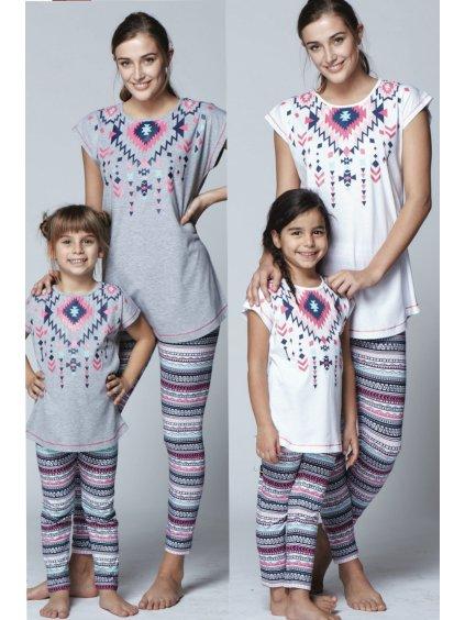 Dámske pyžamo INDIÁN 7858
