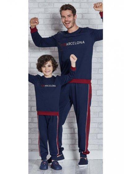 Chlapčenské pyžamko BARCELONA L9266 2-3-4-5 rokov