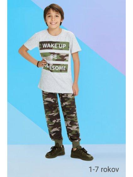 Detské pyžamo - komplet DINOSAURUS RP1207