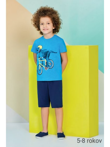 Detské pyžamo - komplet BiCYKEL RP1215 5-6-7-8