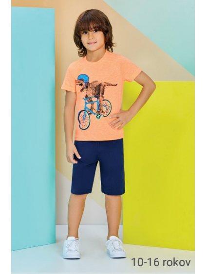 Detské pyžamo - komplet BiCYKEL RP2215 10-16