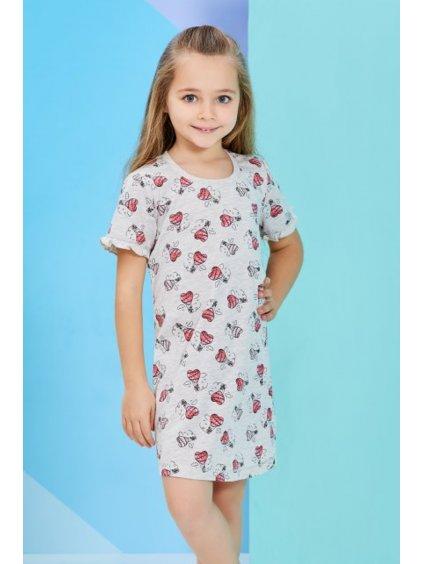 Dievčenské nočná košeľa SRDIEČKO RP1264 3-8rokov