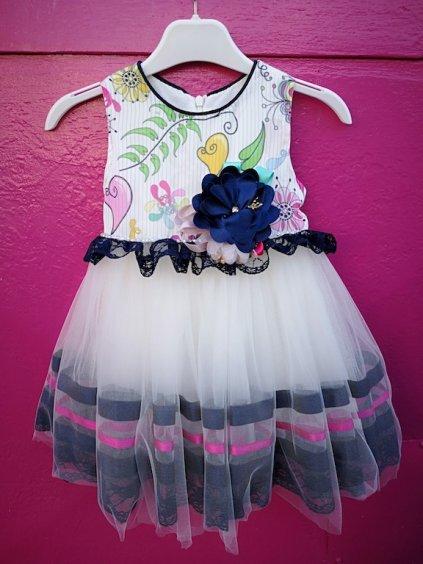 Detské elegantno slávnostné šaty BABY