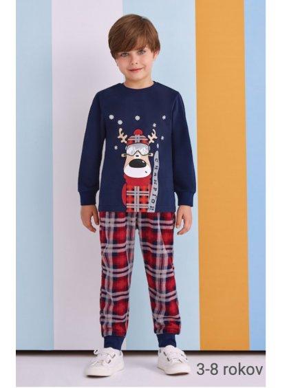 Chlapčenské pyžamo 3 až 8 rokov