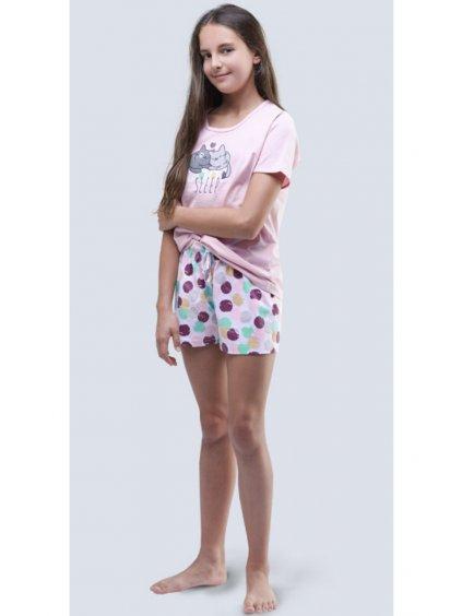 Dievčenské pyžamo model 19048 ružové