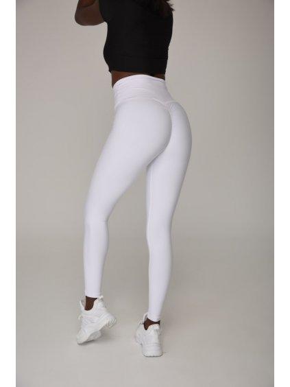 Legíny Scrunch Butt biele 755