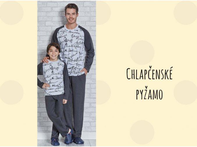 Chalpčenské pyžamo DOPIS model 2115