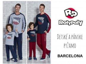 Chlapčenské pyžamko BARCELONA L9364