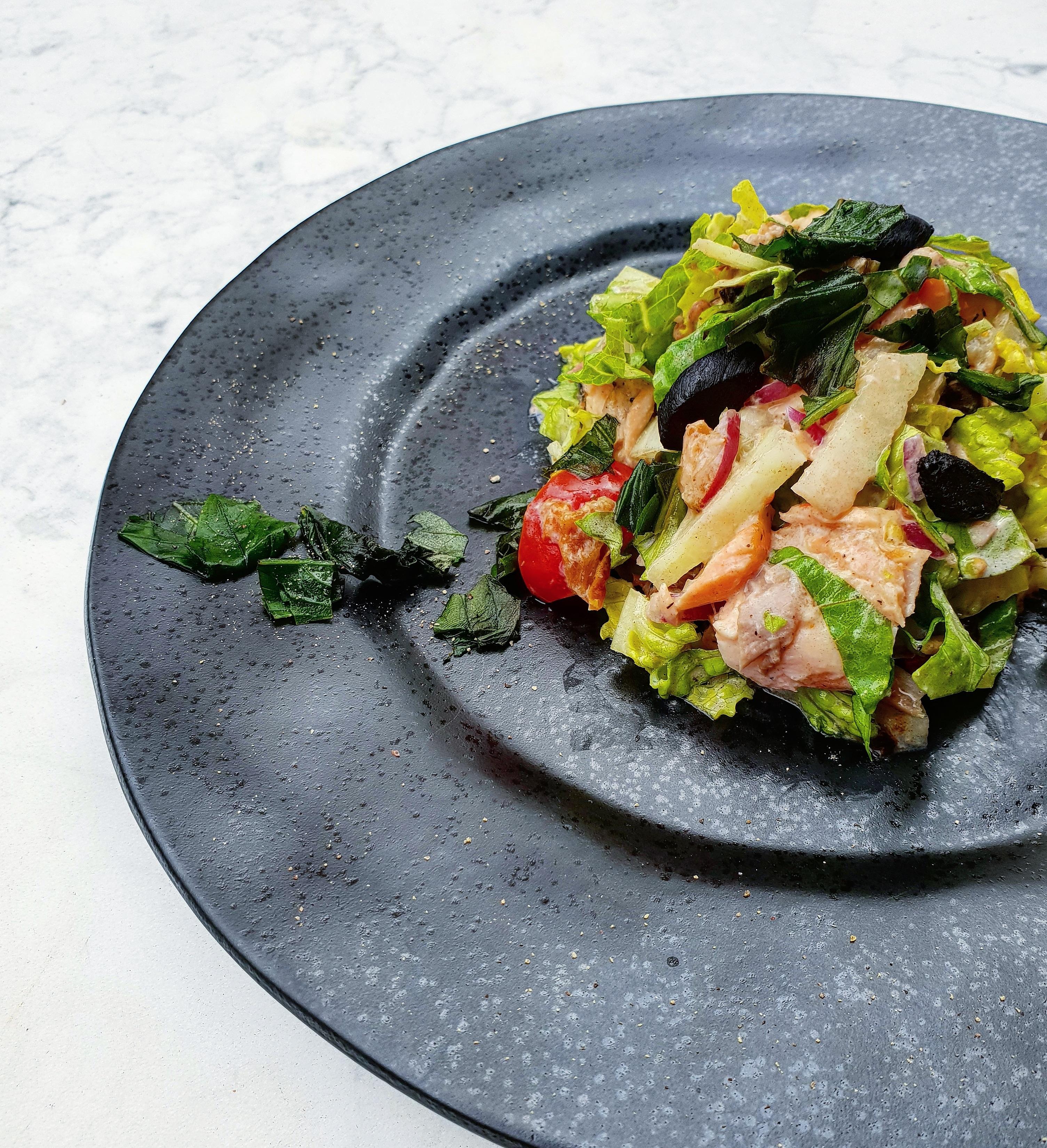 Podzimní salátek plný vitamínů a antioxidantů
