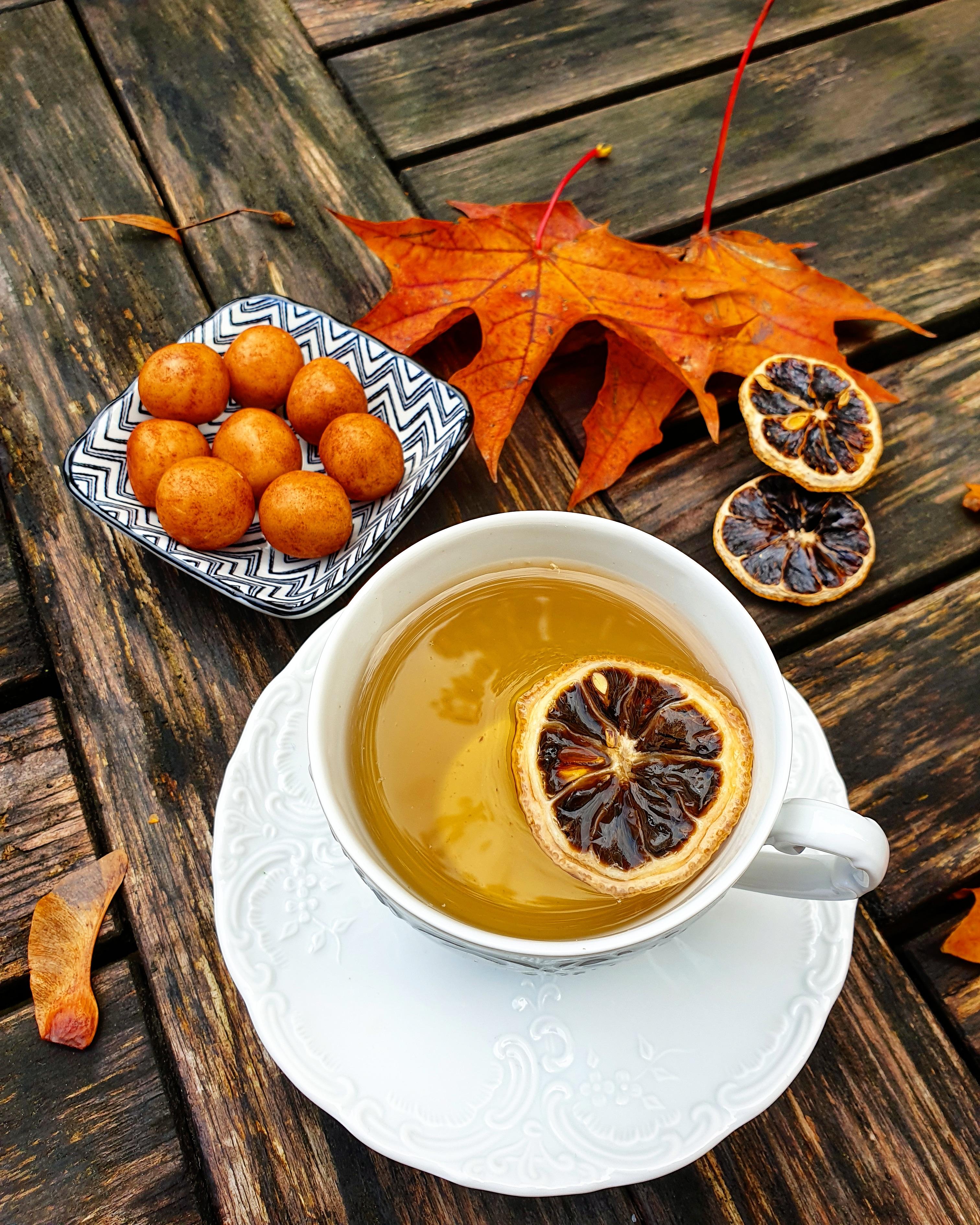 Čaj z černého citronu