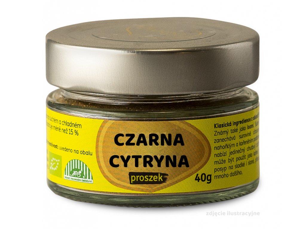 proszek czarna cytryna 40g