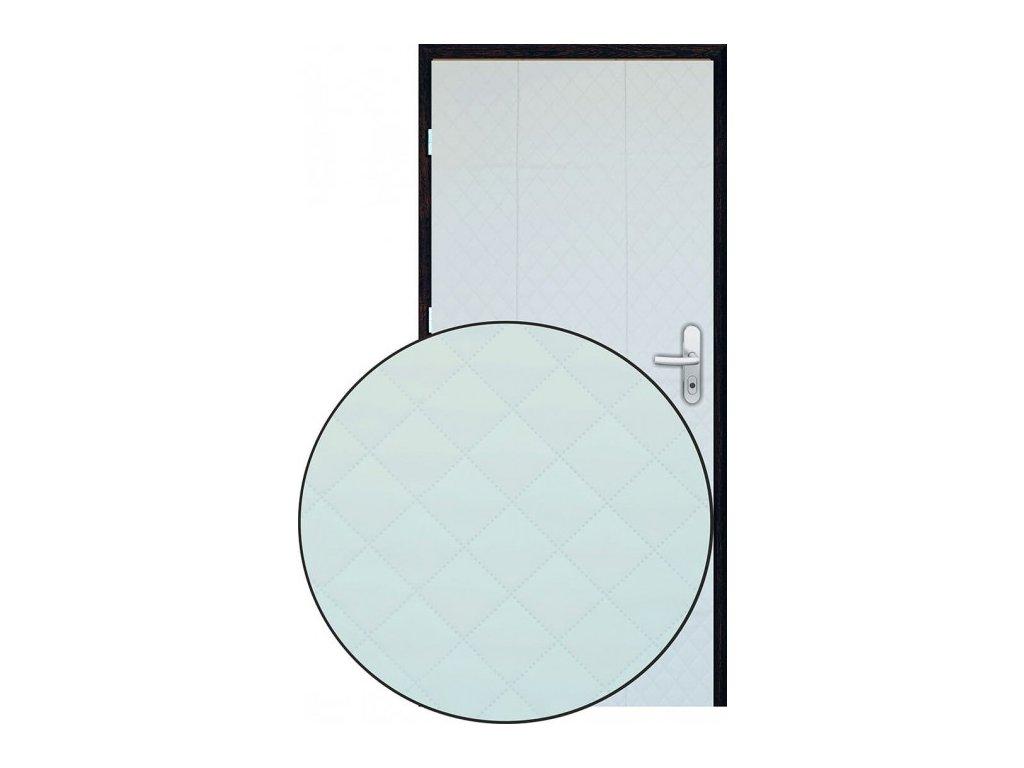 Čalounění dveří 90 x 200 bílá