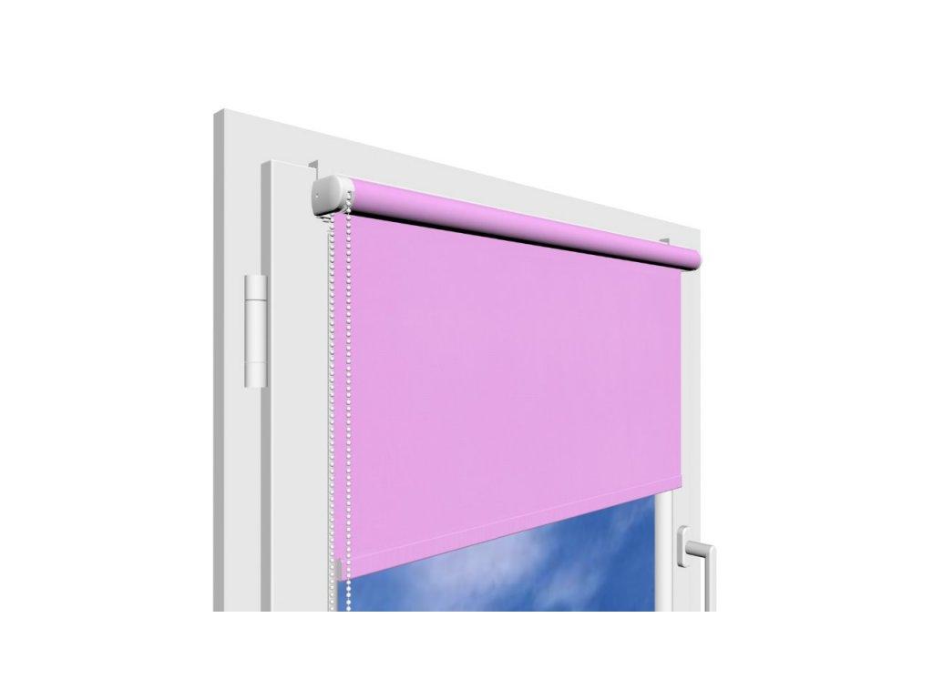 Roleta na okno Decor D23 s vodícími silony