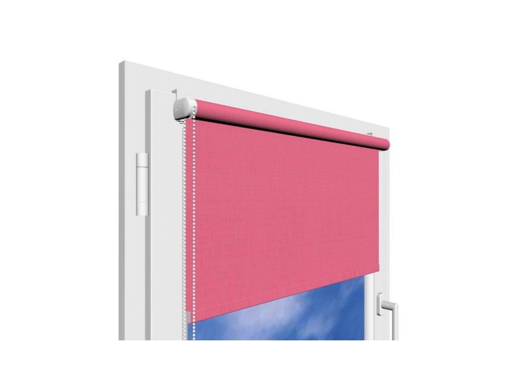 Roleta na okno Polyester 105 s vodícími silony