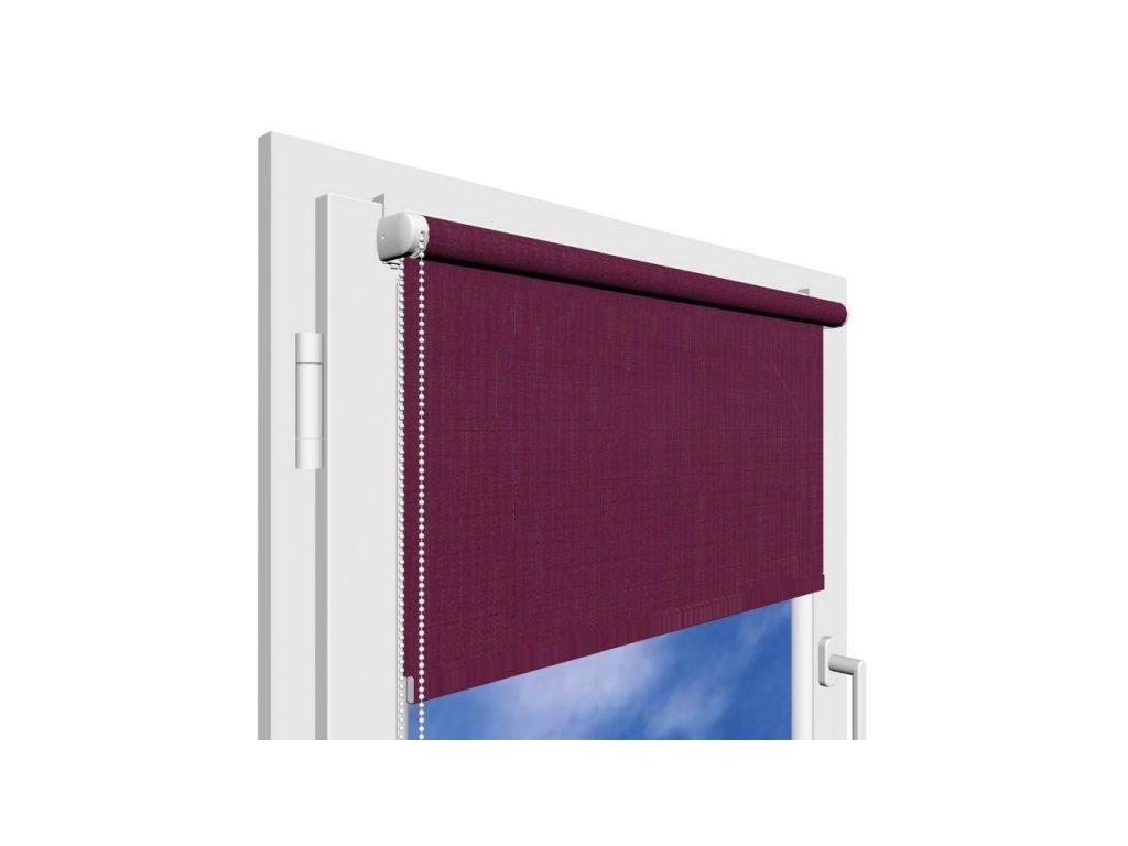 Roleta na okno Polyester 107 s vodícími silony
