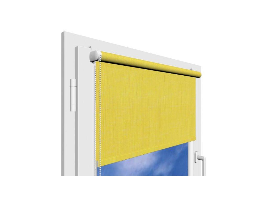 Roleta na okno Polyester 2057 s vodícími silony