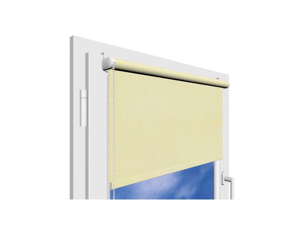 Roleta na okno Polyester 2070 s vodícími silony