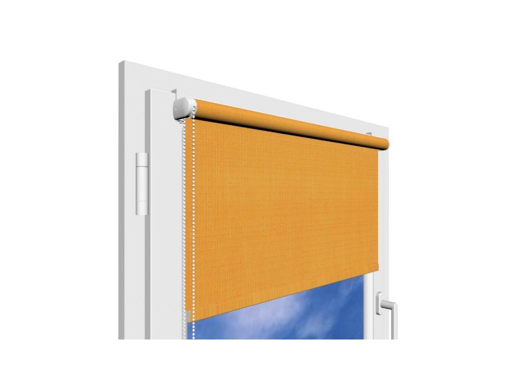 Roleta na okno Polyester 2071 s vodícími silony