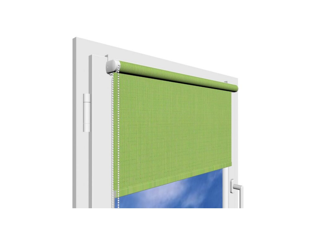 Roleta na okno Polyester 2073 s vodícími silony
