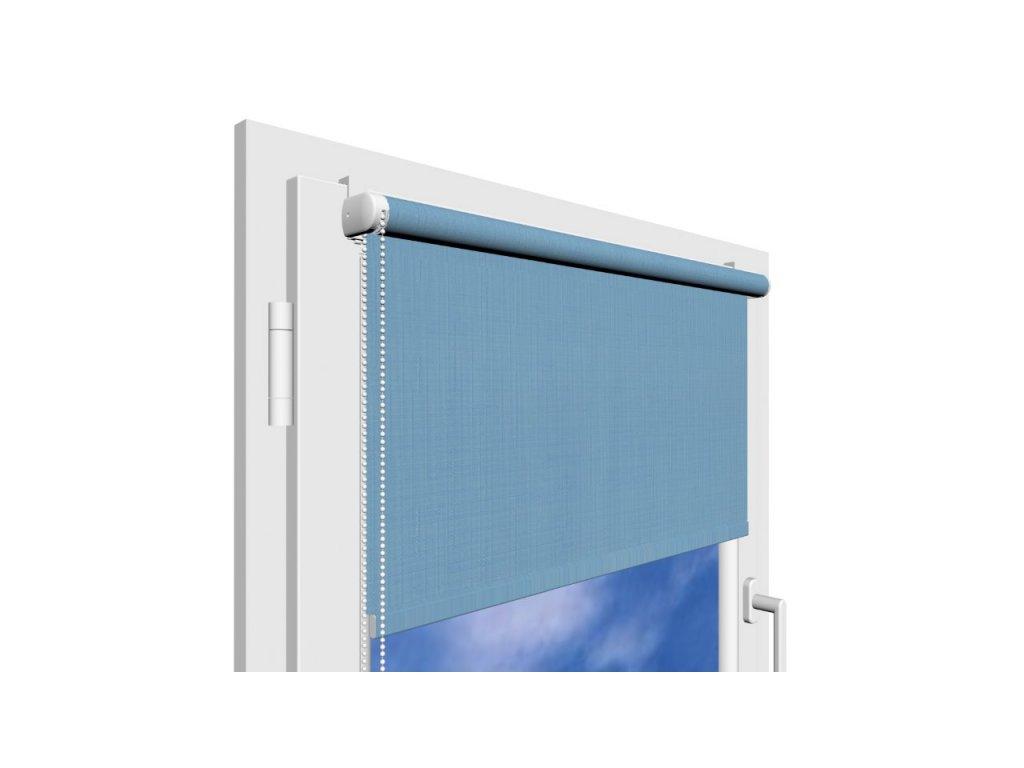 Roleta na okno Polyester 2074 s vodícími silony