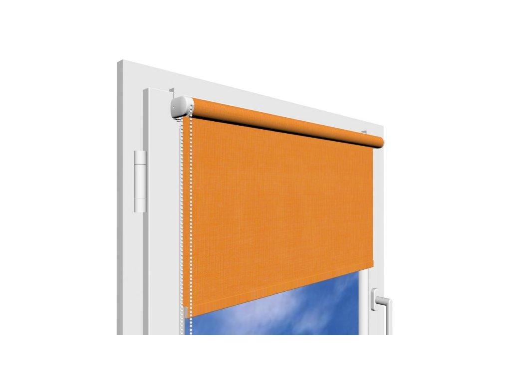 Roleta na okno Polyester 852 s vodícími silony