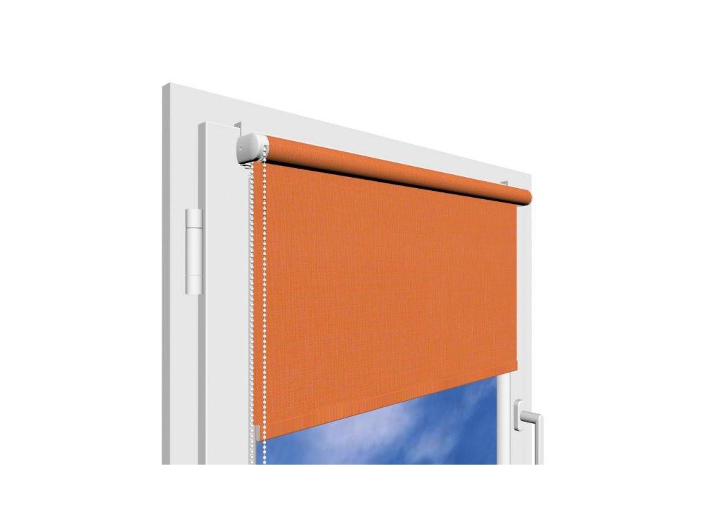 Roleta na okno Polyester 860 s vodícími silony