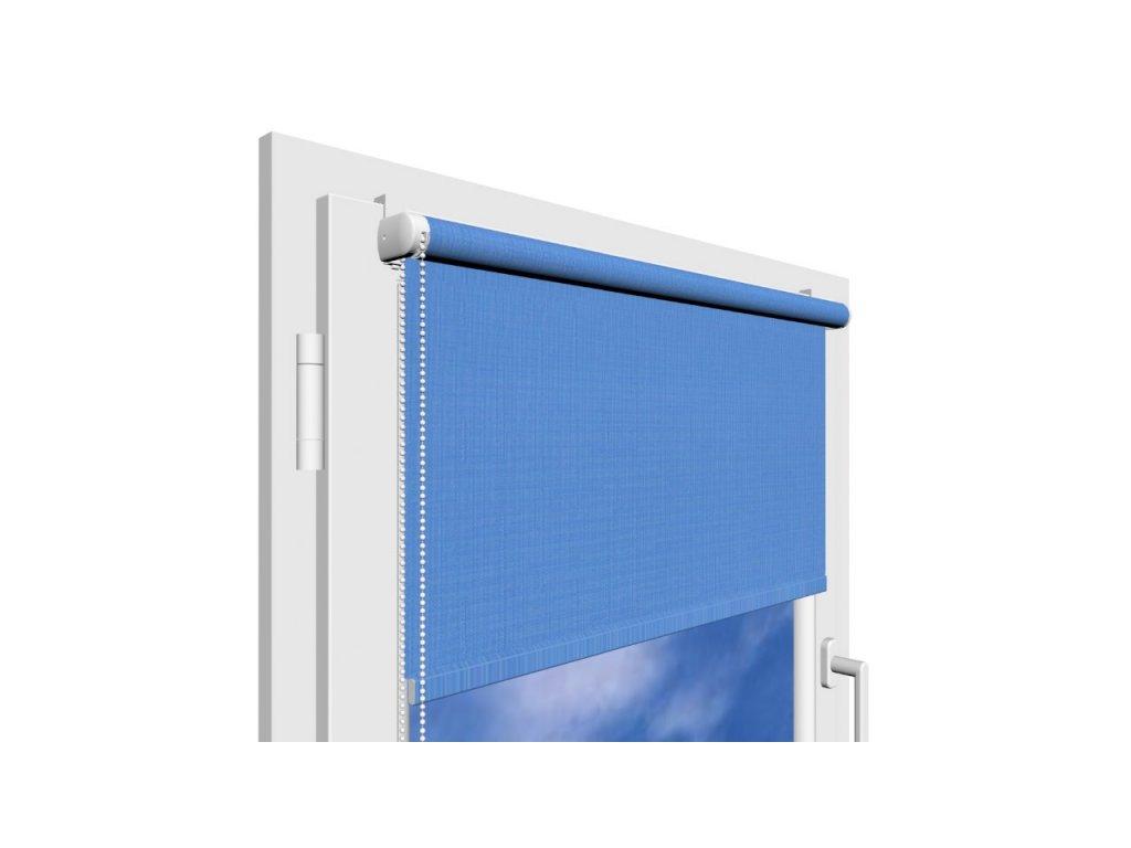 Roleta na okno Polyester 874 s vodícími silony