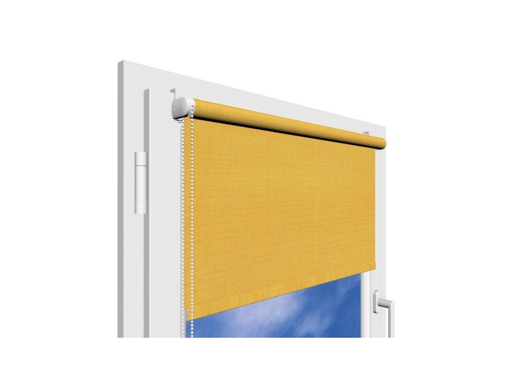 Roleta na okno Polyester 877 s vodícími silony