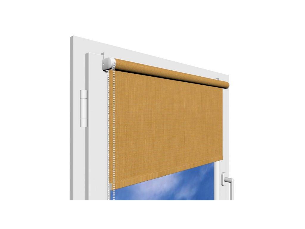 Roleta na okno Polyester 881 s vodícími silony