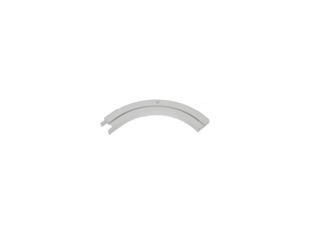 Oblouk koncový jednokolejnicový L+P / garnýže stropní