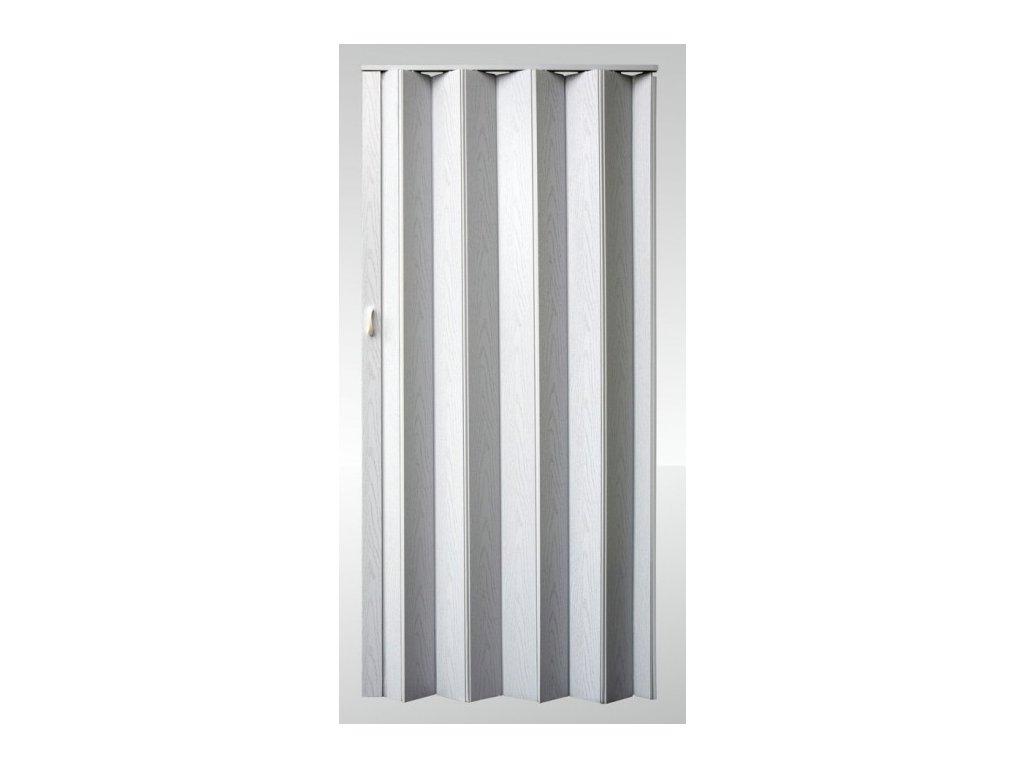 Shrnovací dveře plné Bříza