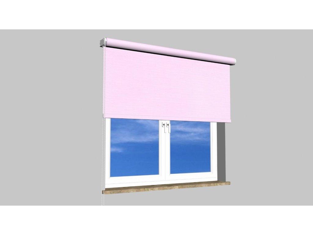 Roleta na zeď Polyester balkon 101