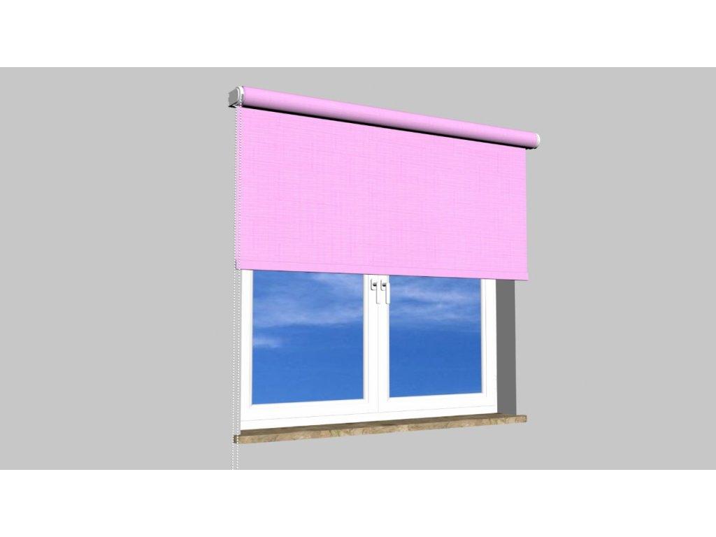 Roleta na zeď Polyester balkon 103