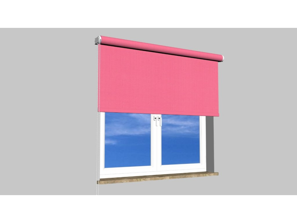 Roleta na zeď Polyester balkon 105