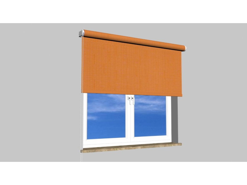 Roleta na zeď Polyester balkon 106