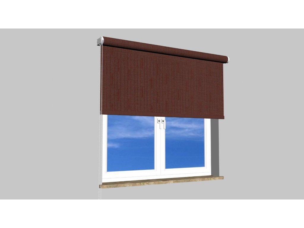 Roleta na zeď Polyester balkon 108