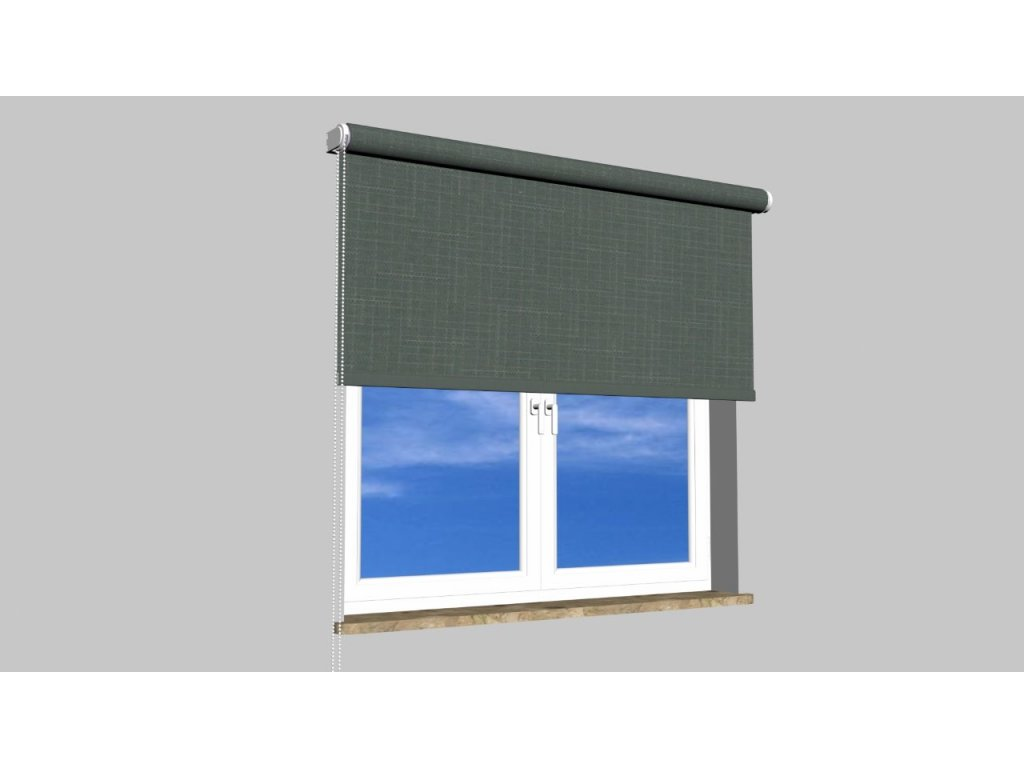 Roleta na zeď Polyester balkon 113