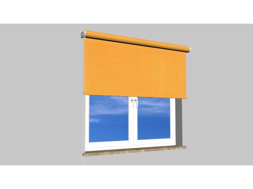Roleta na zeď Polyester balkon 2071