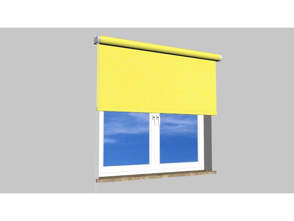 Roleta na zeď Polyester balkon 2072