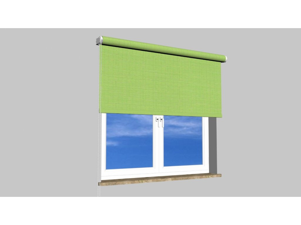 Roleta na zeď Polyester balkon 2073