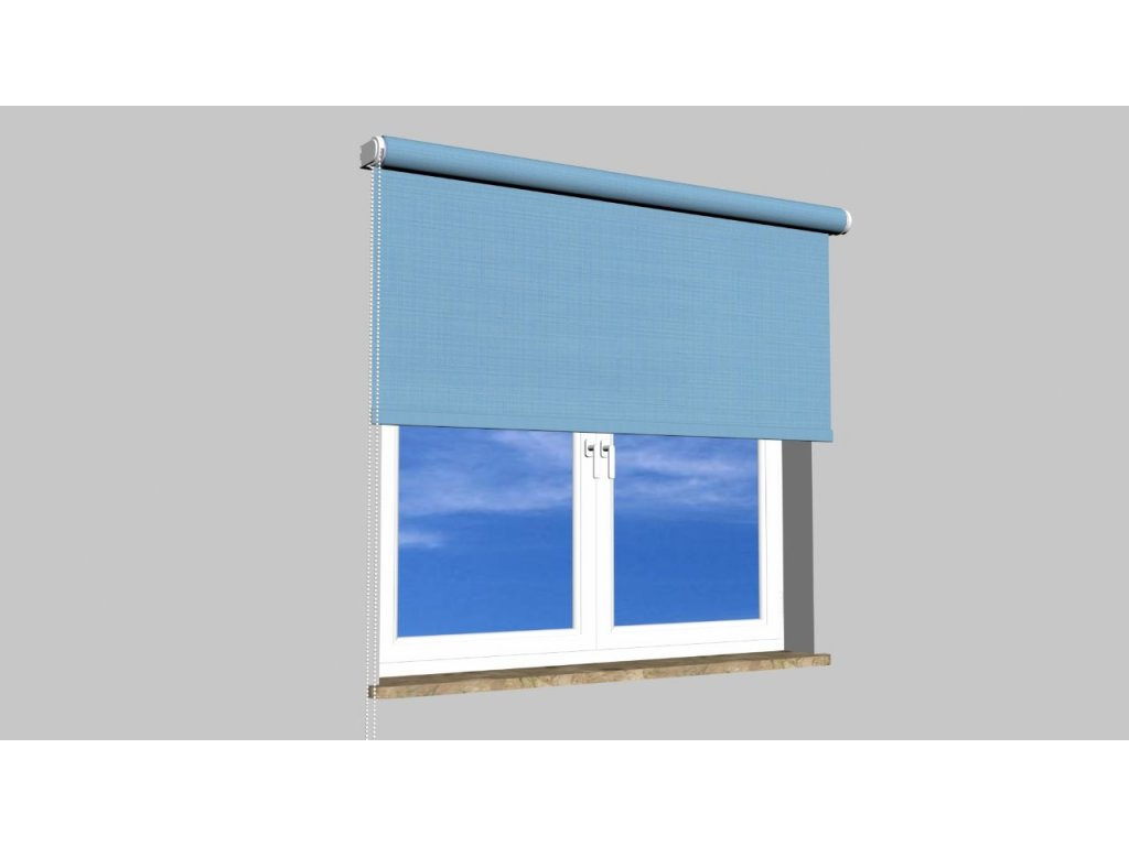 Roleta na zeď Polyester balkon 2074